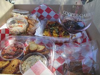 Cooper Garrod picnic lunch