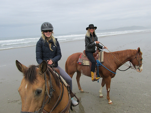 horseback riding, Cayucos,
