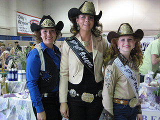 """""""miss rodeo queen"""" oregon"""