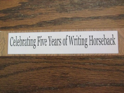 """Writing Horseback"" blog"