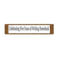 """Writing Horseback"" blog"