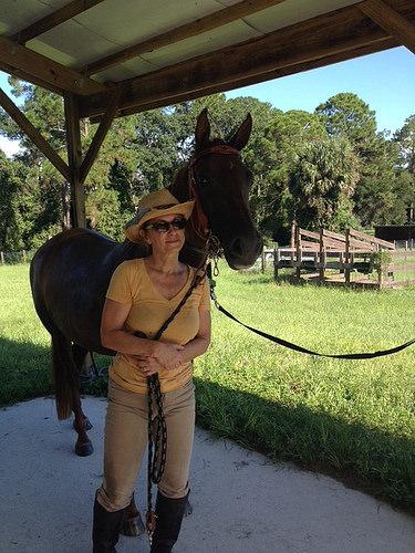 """""""Maddie Lock"""", horse"""