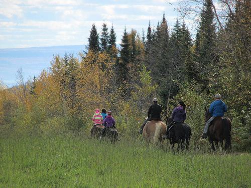 "horseback riding, ""Charlevoix"", ""Canada"""