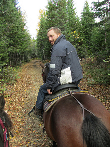 """Stephane Audet"" horseback riding"