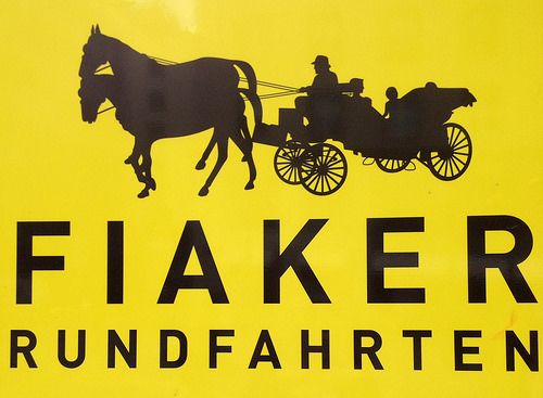 Fiaker, horse carriage, vienna, austria