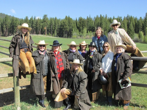 Rocky Mountain Rendezvous, Triple Creek Ranch, cowgirls
