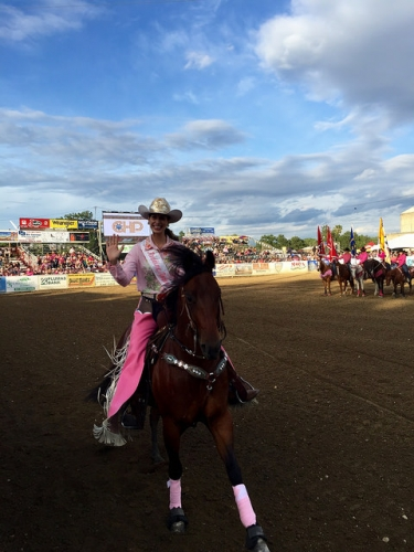 Jordenne Burns, Redding Rodeo, Miss Rodeo
