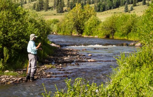 fly fishing, 4ur ranch, colorado