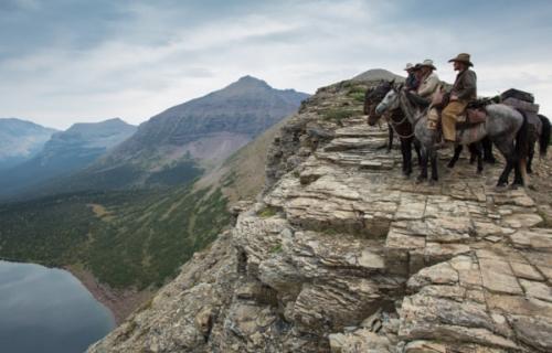 Unbranded, glacier national park, cowboys, horses