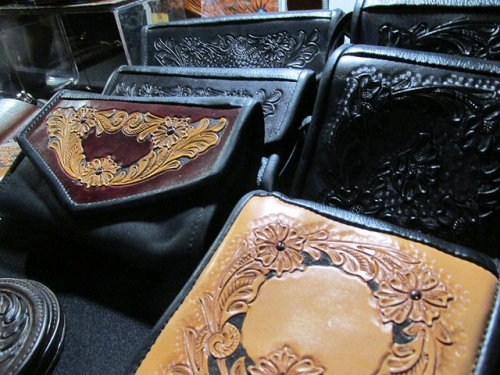 leather, wallet, custom leather