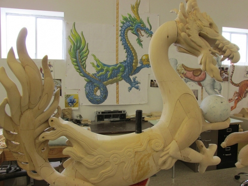 Yun Hsiang is a Chinese dragon. Photo © 2015 Nancy D. Brown