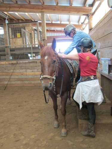dream ridge stables, horseback riding, hip replacement