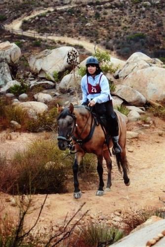 Elfin Forest Competitive Trail Ride Escondido, California