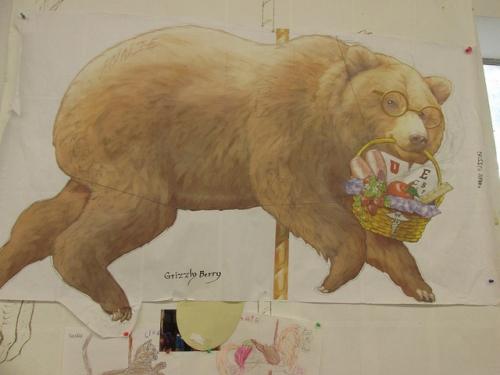 bear, albany historic carousel, albany, oregon