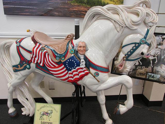 albany, oregon, horse, carousel horse