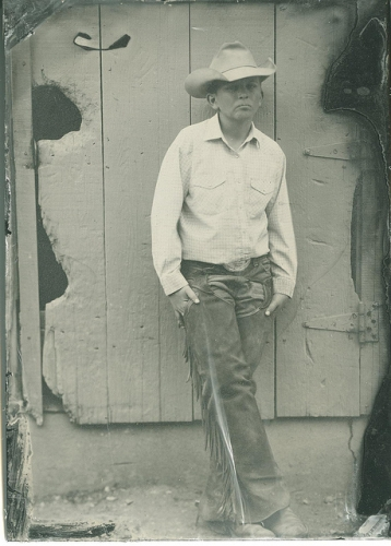 cowboy, tintype, lindsey ross vintage photography