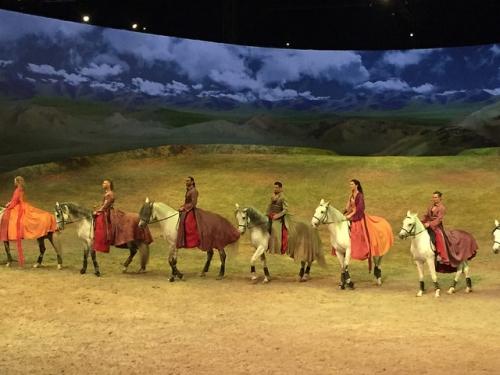 cavalia, odysseo, horsback, horses