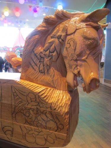 carousel horse, royal caribbean, oasis of the seas