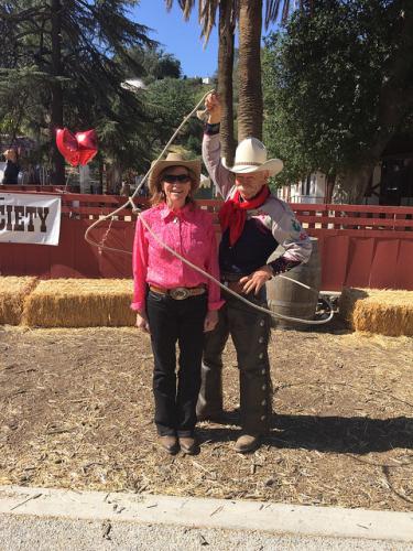 dave thronbury, nancy brown, santa clarita cowboy festival