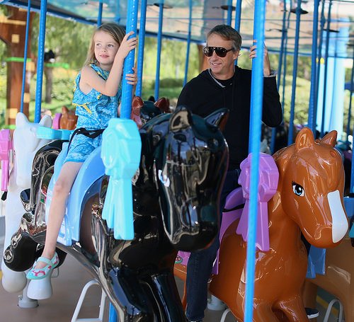 legoland california resort, carousel horse, heartlake city