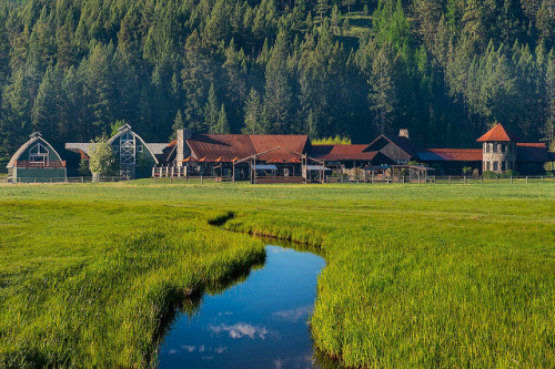 paws up, missoula montana resort, horseback riding vacation