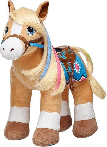 build a bear, palomino quarter horse, horse, palomino, quarter horse