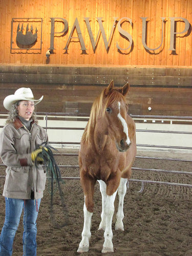 Stacy Westfall, the resort at paws up, greenough, montana, horses, horsemanship, cowgirl spring round up