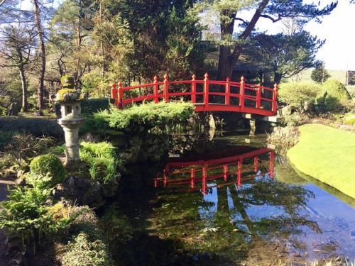 bridge of life, japanese garden, irish national stud & gardens, kildare, ireland