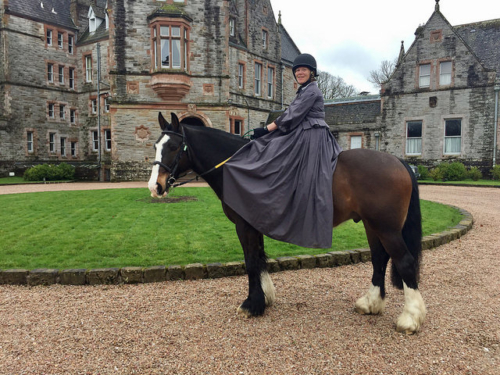 Horse Riding At Castle Leslie In Ireland Writing Horseback