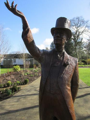 colonel william hall walker, irish national stud & garden, sculpture, william hall walker, tully, county kildare, ireland, statue
