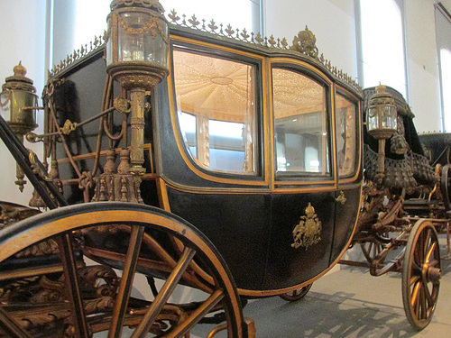 town carriage, carriage, imperial carriage museum, vienna, austria