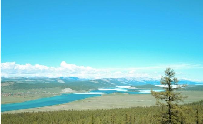 khuvsgul lake, mongonia, khovsgol nuur, blue pearl of mongolia
