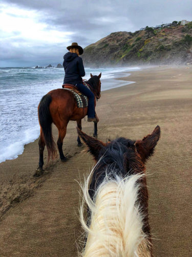 tobi ross, ross ranch, horseback riding manchester beack, mendocino county, california, trail ride, beach ride