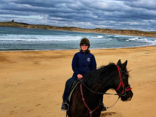 nancy d brown, horseback riding, donegal bay, county sligo, ireland