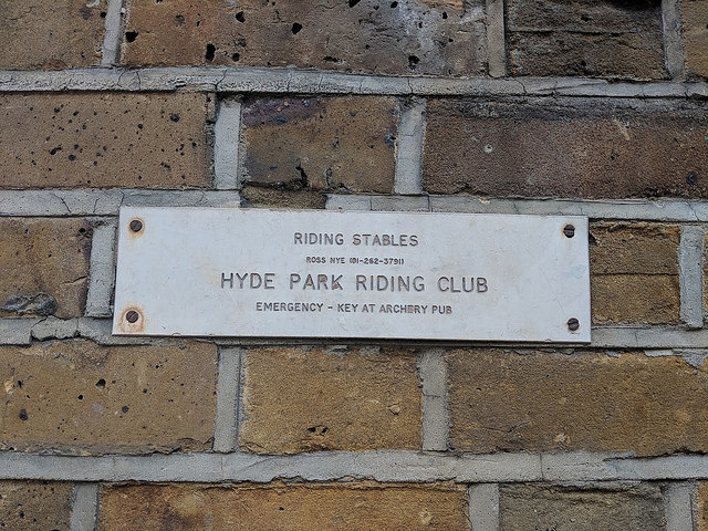 learn more about ross nye stables, where to ride in london, where to ride in hyde park, hyde park riding club