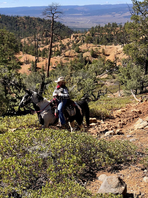 nancy wright, rubys horseback adventures, bryce canyon horse rides, rubys grand adventure southern utah