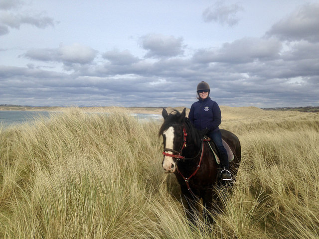 nancy d brown horseback riding, island view riding stables, county sligo horse riding, wild atlantic way horse riding